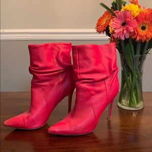 Steve Madden RED booties!